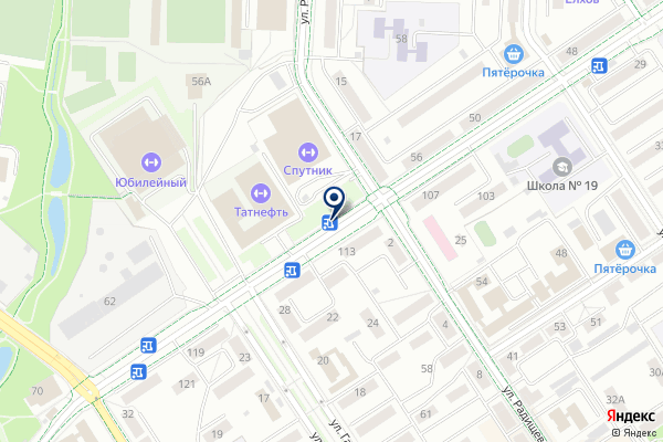 «Красный восток» на карте