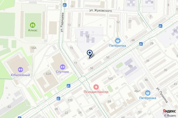 «Альметьевский сервисный центр жилья» на карте