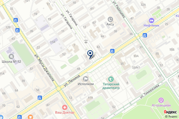 «Платежный терминал» на карте