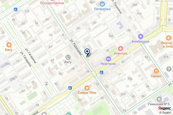 «Трезвый Альметьевск» на карте