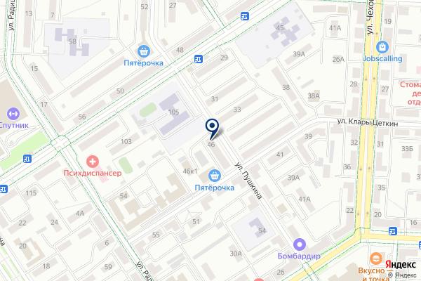 «ЮЛА» на карте