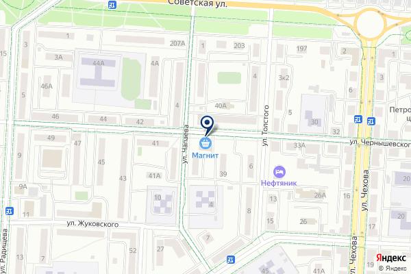 «Циркуль» на карте