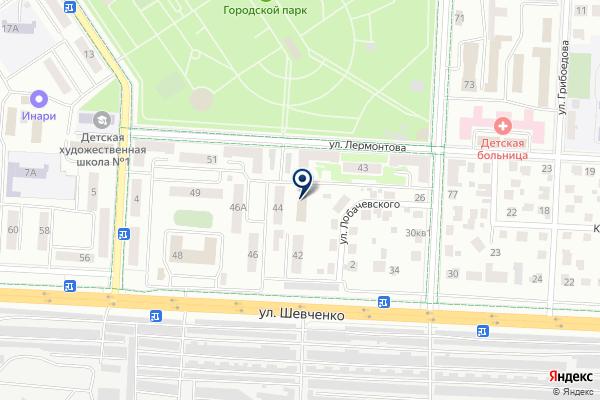 «Совет территориального общественного самоуправления» на карте