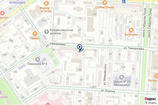 «Жилбытсервис-М» на карте