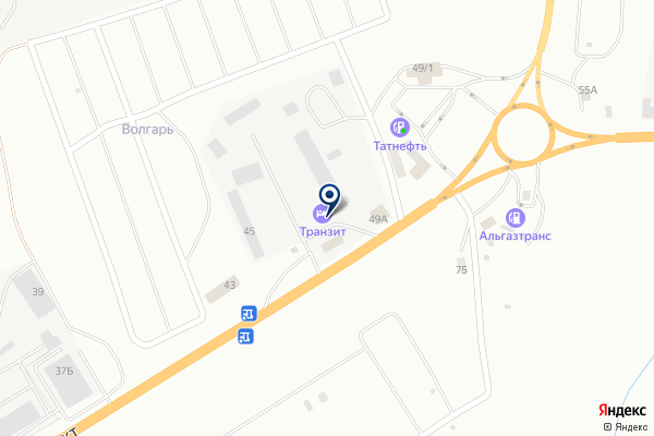 «АВТО» на карте
