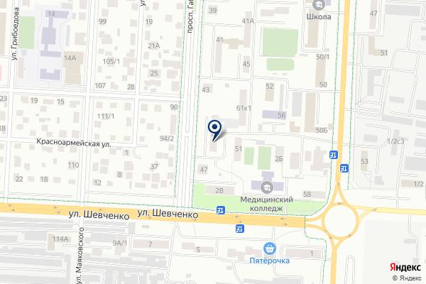 «Альком» на карте