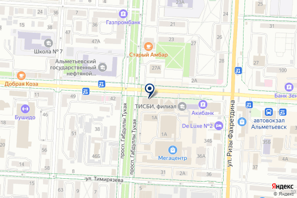 «Comepay» на карте