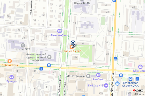 «Старый амбар» на карте