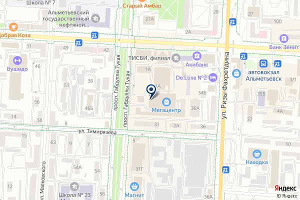 «MEGA центр» на карте