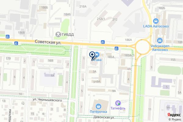 «Арт-Клиник» на карте