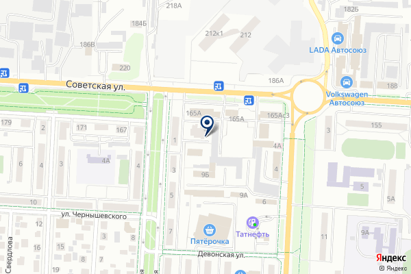 «ПРОГРЕСС» на карте