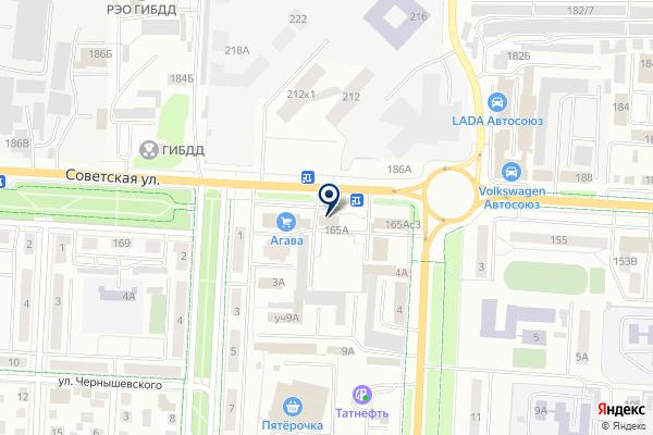 «Атлас-люкс» на карте