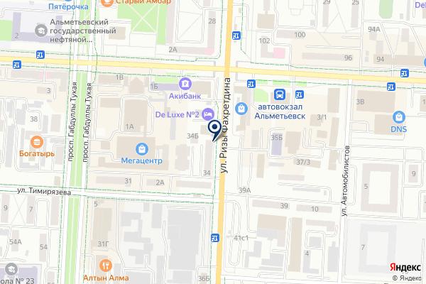 «Камелот» на карте