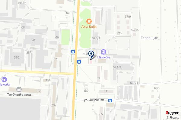 «РЕАМЕД» на карте