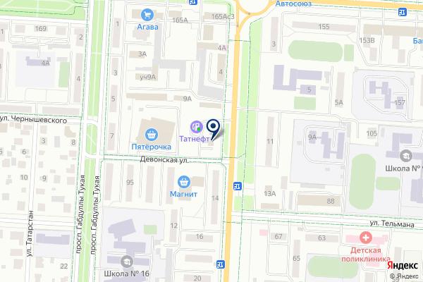 «Tatneft» на карте