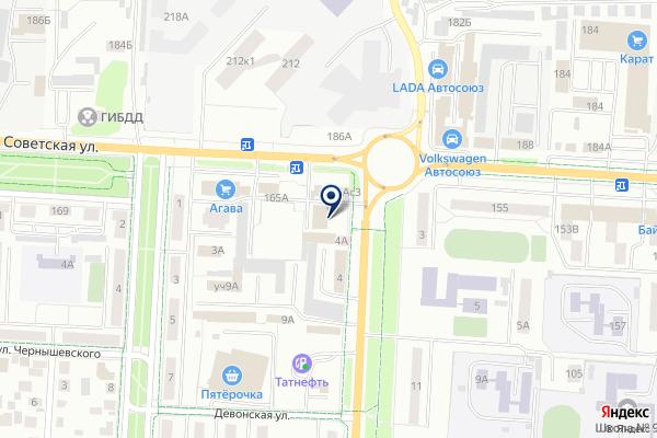 «Татнефть-Самара» на карте