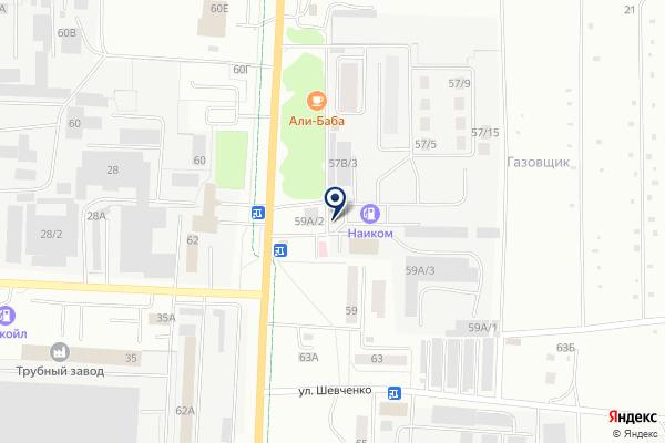 «СТРОЙКРЕПЕЖ» на карте
