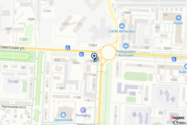 «Дорожное радио» на карте