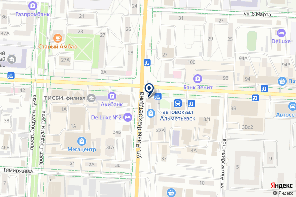 «Строй-мастер» на карте