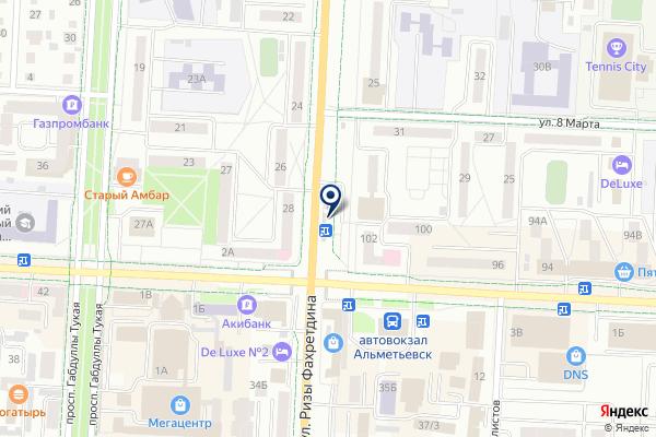 «Сеть магазинов цветов» на карте