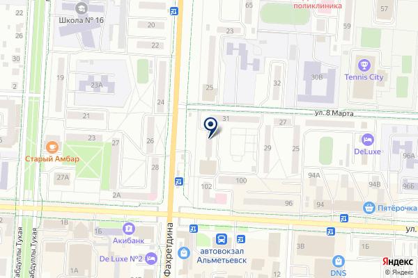 «STOCK» на карте