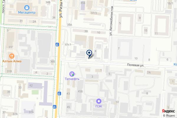 «Альметьевская инженерно-строительная компания» на карте