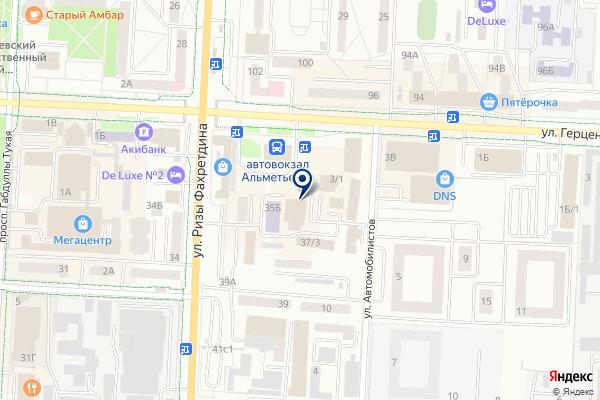 «RCF-CTAPT» на карте