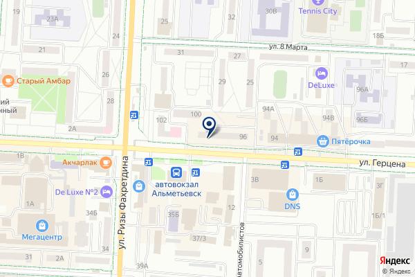 «АБ Девон-кредит» на карте