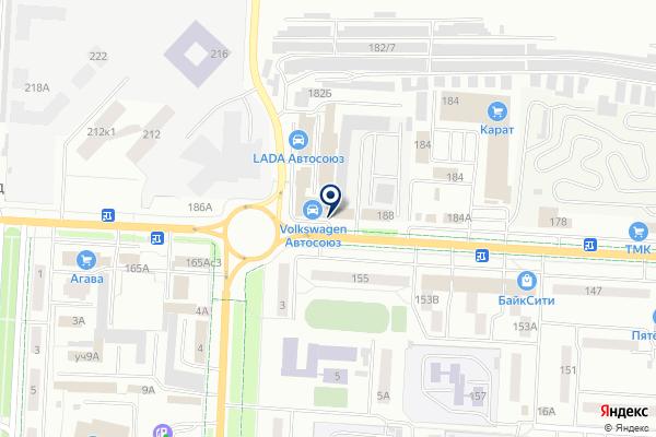 «Volkswagen» на карте