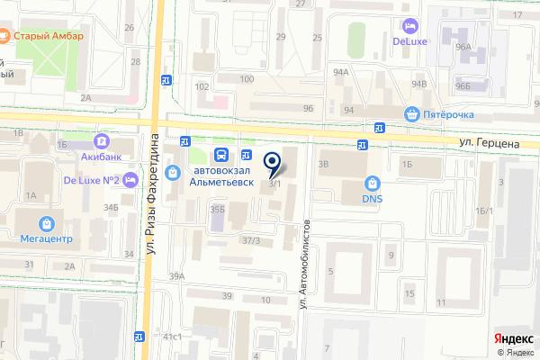 «Oriflame» на карте