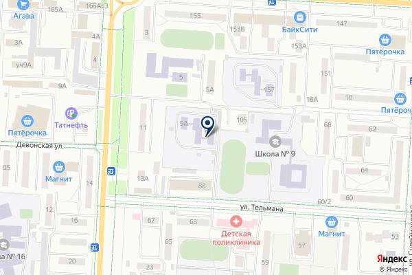 «ТАТНЕФТЬ-ШКОЛА» на карте
