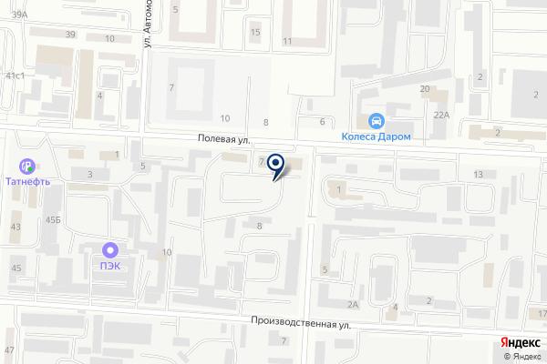 «Уфа» на карте