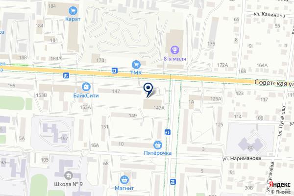 «Меркурий» на карте