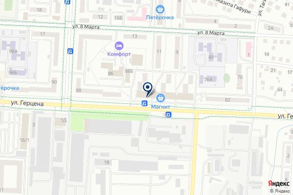 «Глобус» на карте