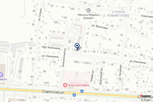 «Эдельвейс» на карте