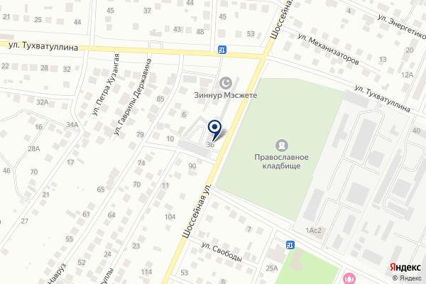«Магазин автозапчастей» на карте
