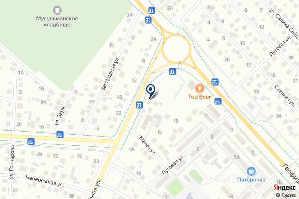 «Диамант СТ» на карте