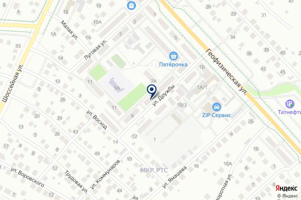 «Почтовое отделение №3» на карте