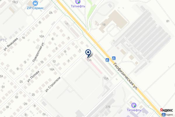 «Альметьевское районное государственное ветеринарное объединение» на карте