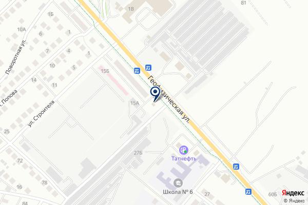 «Хозмаг» на карте