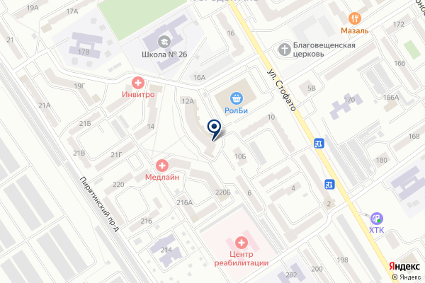 «Сбербанк» на карте