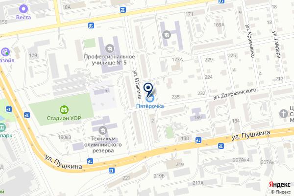 «Ломбард Надежда» на карте