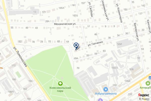 «Юридический кабинет Соколова С.О.» на карте