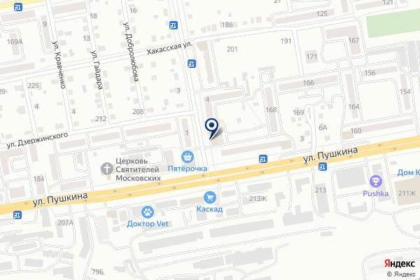 «Банкомат» на карте