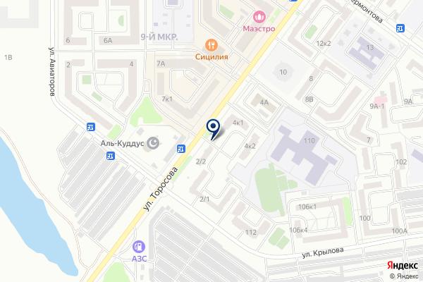 «Магазин продуктов» на карте