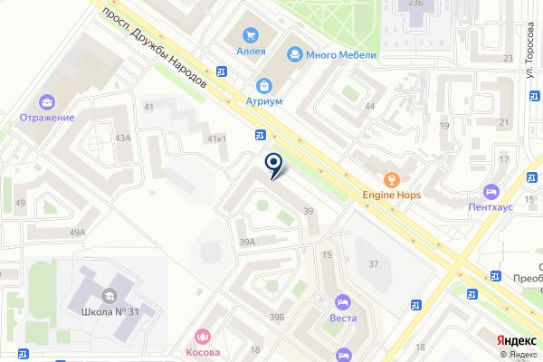 «Хакасский муниципальный банк» на карте