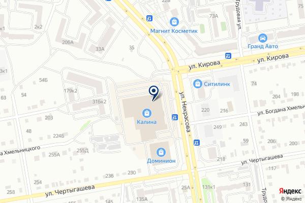 «585» на карте