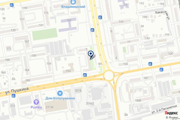 «Решение» на карте