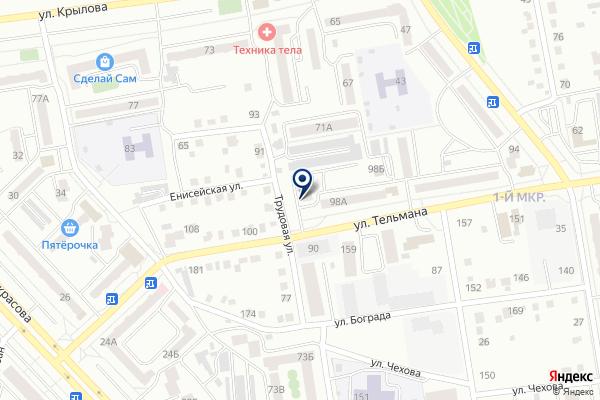 «Юрист» на карте