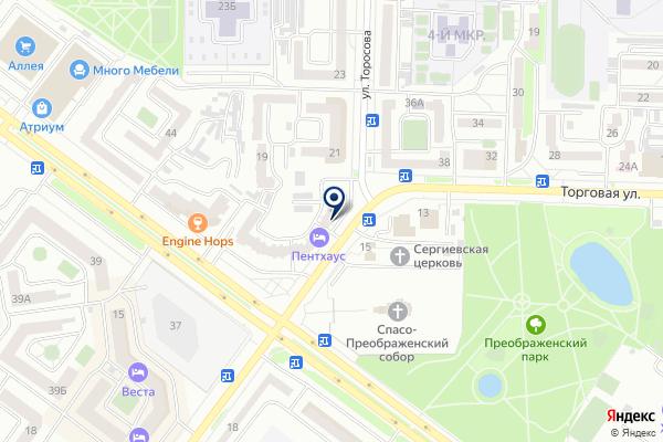 «Ломбард Надежный» на карте